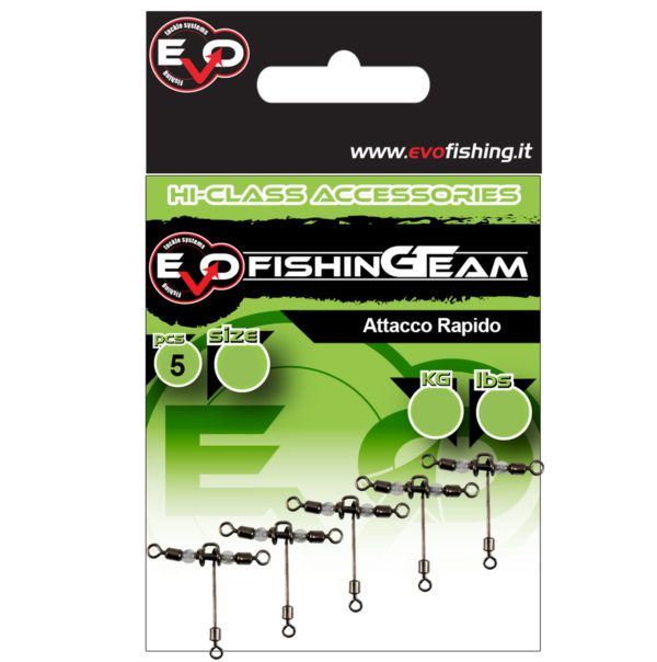 t swivel evo fishing